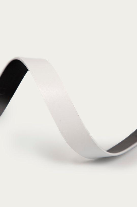 Calvin Klein - Kožený pásek bílá