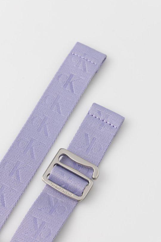Calvin Klein Jeans - Pásek levandulová