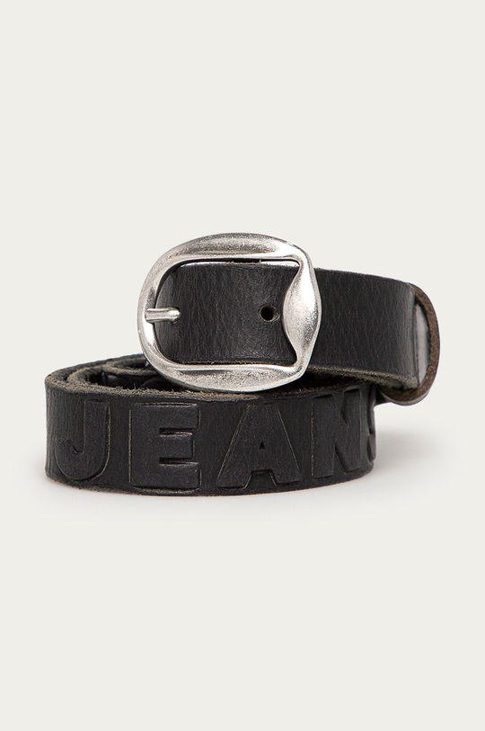 čierna Pepe Jeans - Kožený opasok Lisa Dámsky