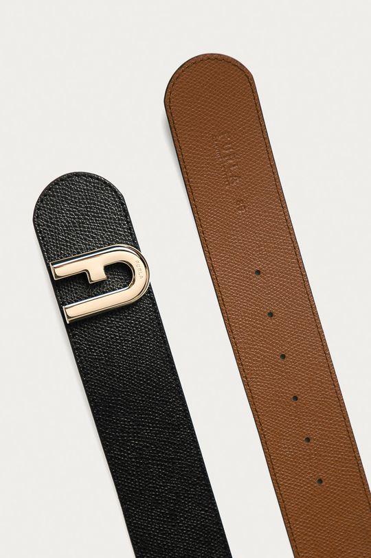 Furla - Obojstranný kožený opasok 1927  Základná látka: 100% Prírodná koža