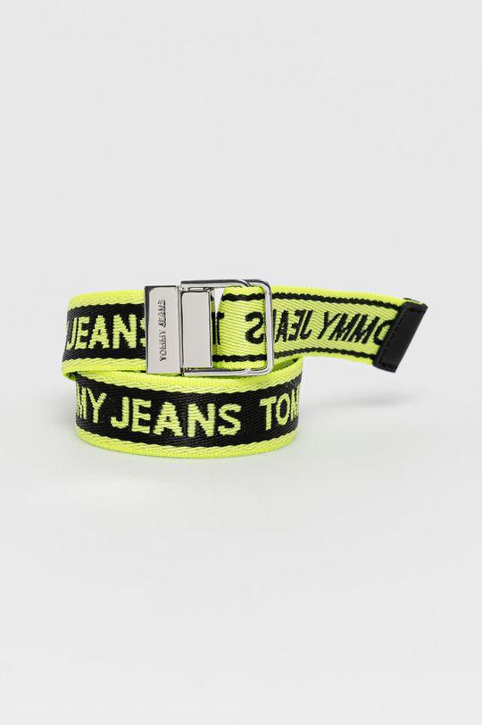 żółto - zielony Tommy Jeans - Pasek Damski