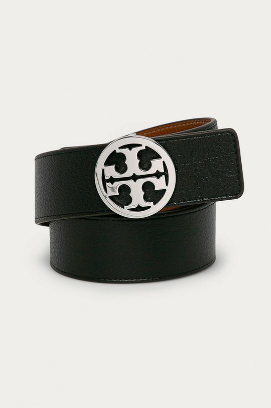 černá Tory Burch - Oboustranný kožený pásek Dámský