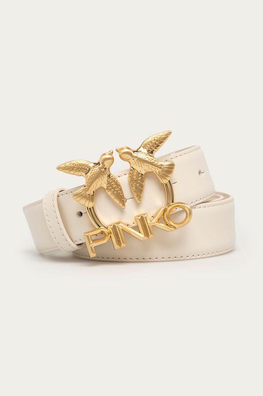bílá Pinko - Kožený pásek Dámský