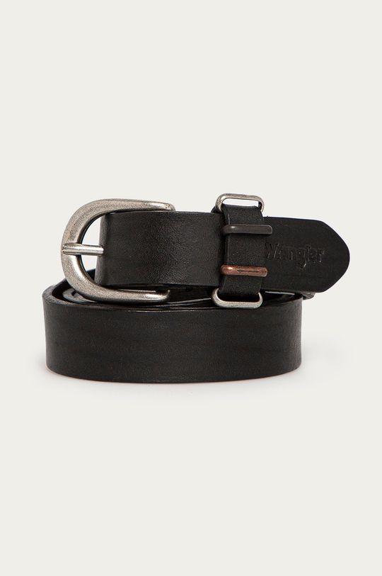 černá Wrangler - Kožený pásek Dámský