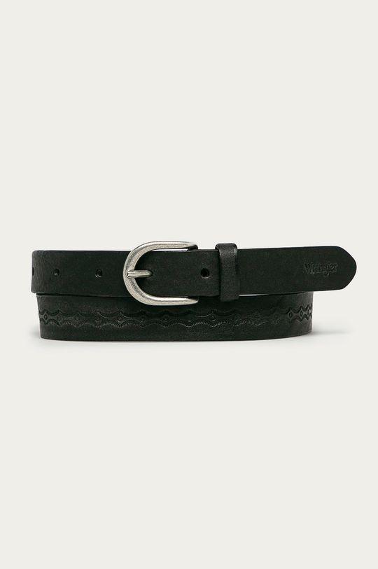 čierna Wrangler - Kožený opasok Dámsky