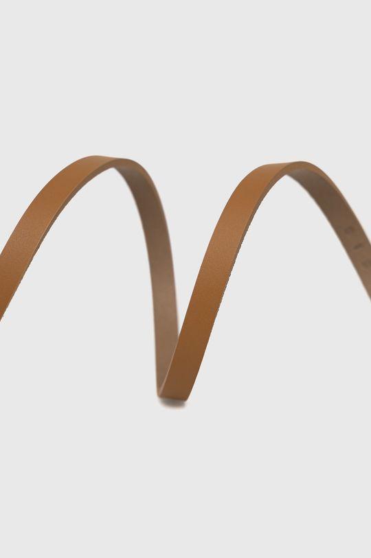 Sisley - Kožený opasok hnedá