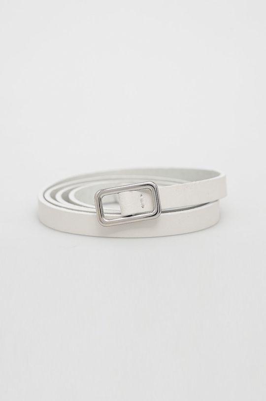bílá Sisley - Kožený pásek Dámský