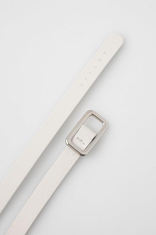 Sisley - Kožený pásek bílá