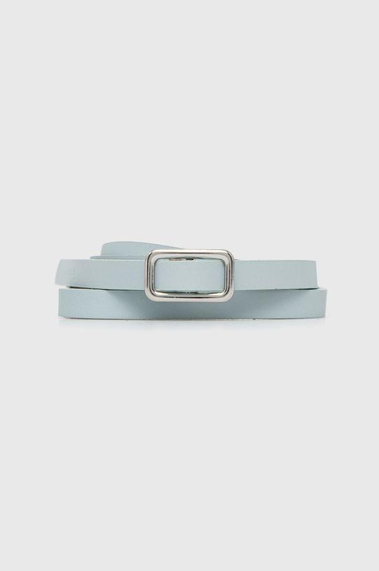 modrá Sisley - Kožený pásek Dámský