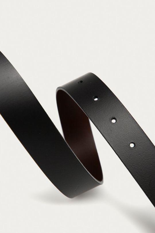 s. Oliver - Kožený pásek černá
