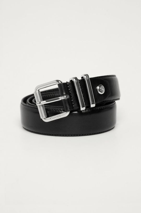 černá Guess - Pásek Pánský