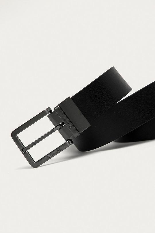 černá Calvin Klein - Kožený pásek