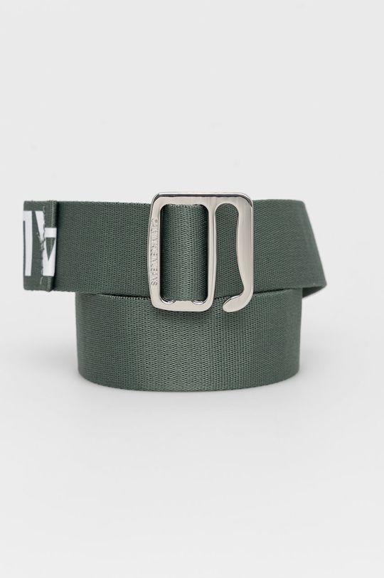 zelená Calvin Klein Jeans - Pásek Pánský