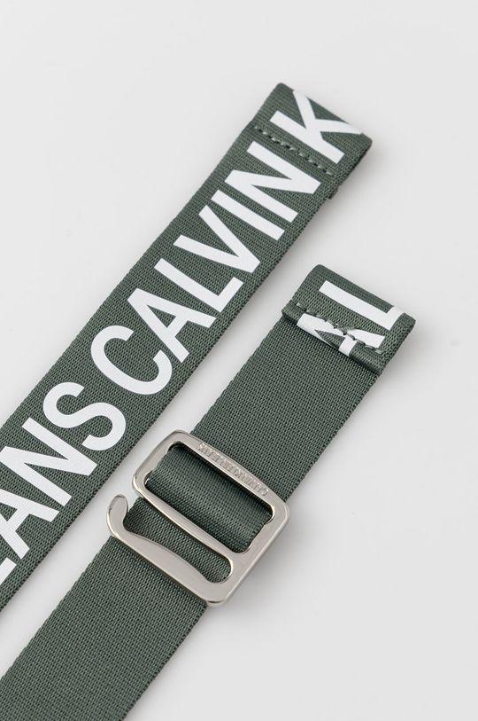Calvin Klein Jeans - Pásek zelená