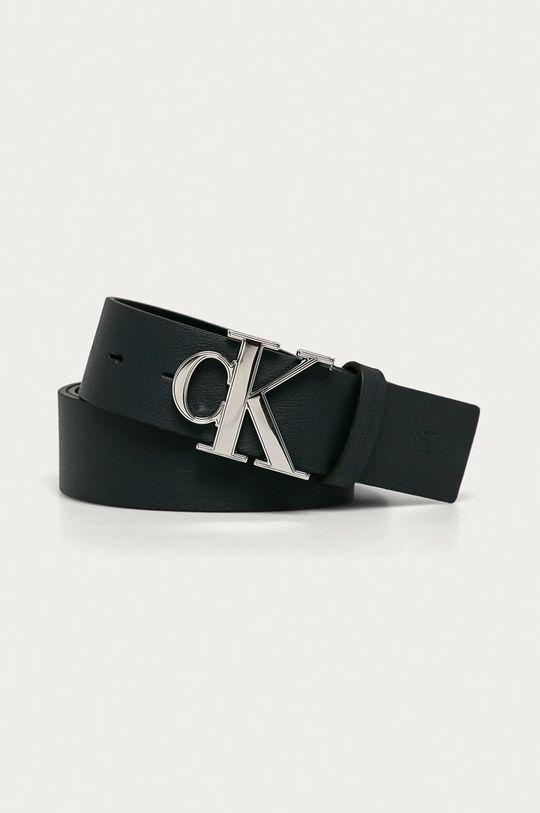 námořnická modř Calvin Klein Jeans - Kožený pásek Pánský