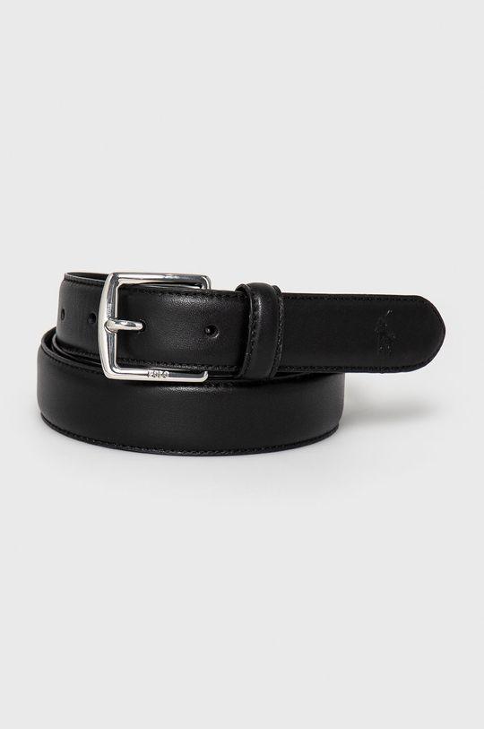čierna Polo Ralph Lauren - Kožený opasok Pánsky