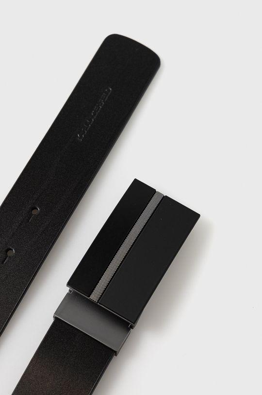 Karl Lagerfeld - Curea de piele negru