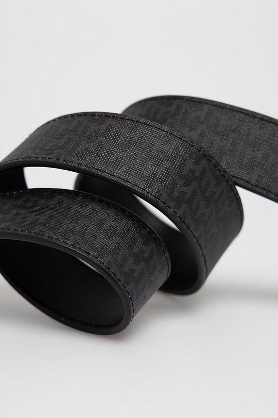 czarny Tommy Hilfiger - Pasek skórzany