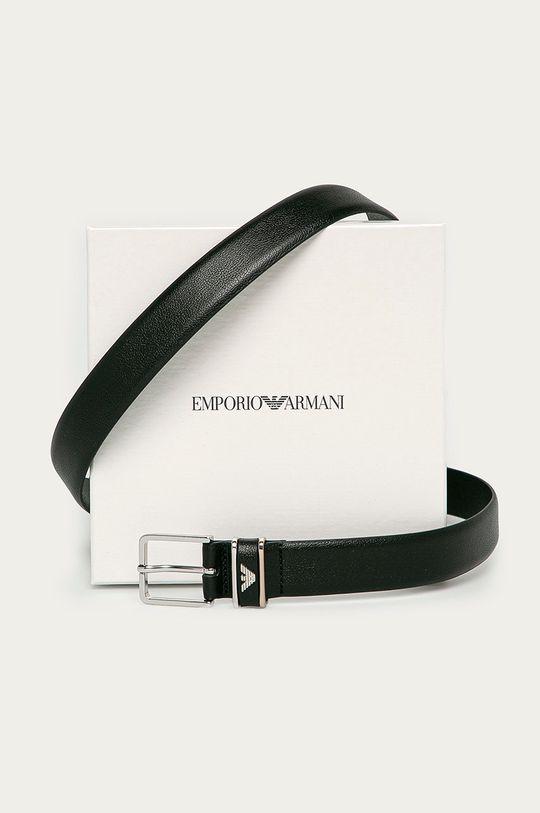 Emporio Armani - Pasek skórzany Materiał zasadniczy: 100 % Skóra naturalna