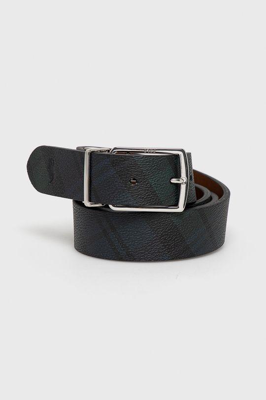 czarny Polo Ralph Lauren - Pasek skórzany Męski