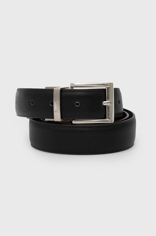 černá Sisley - Pásek Pánský