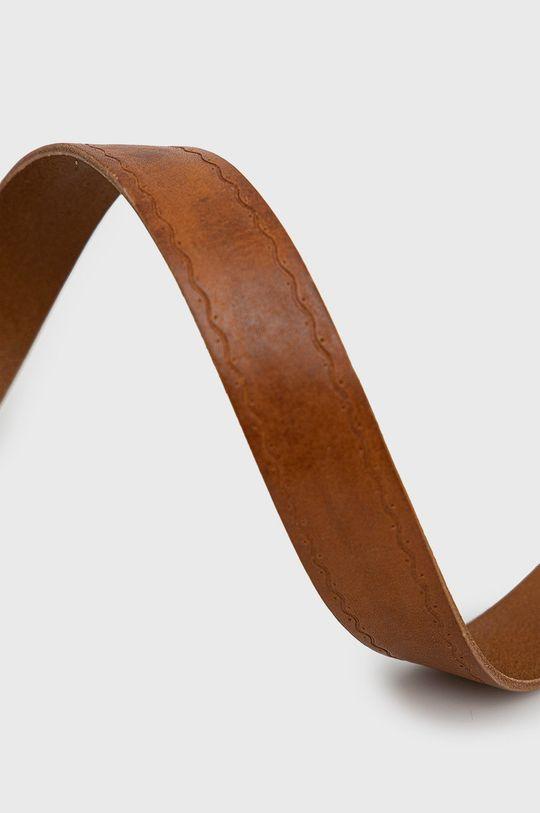 Sisley - Kožený pásek hnědá