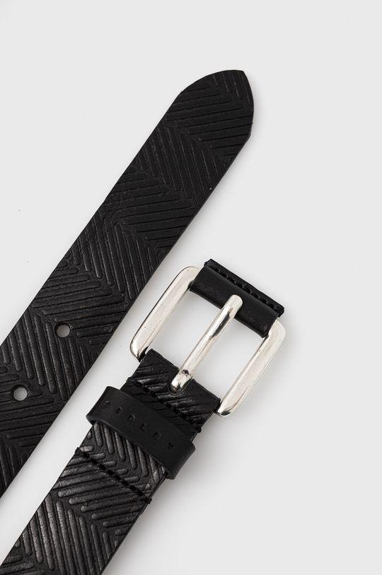 Sisley - Kožený pásek černá