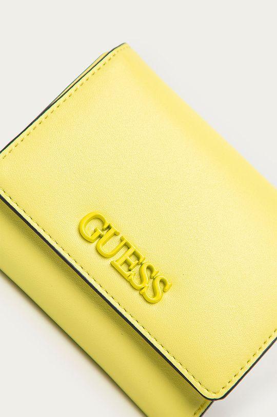 Guess - Peňaženka žlto-zelená