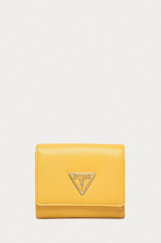 żółty Guess - Portfel Damski