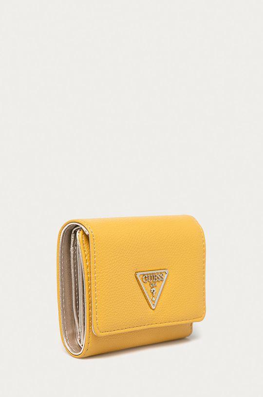 Guess - Portfel żółty