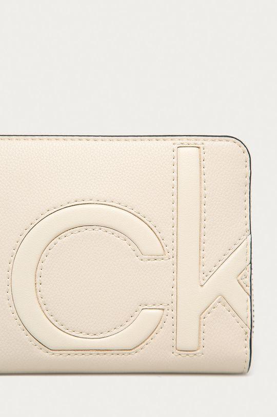 Calvin Klein - Portfel kremowy