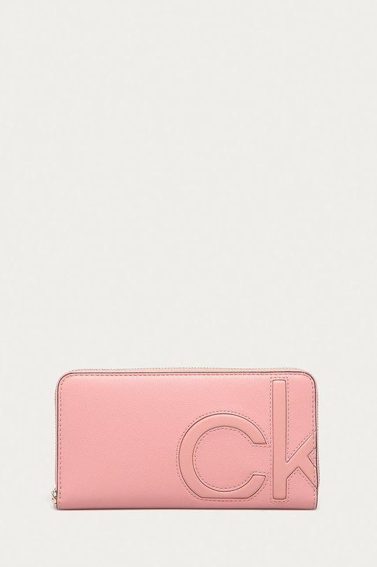 růžová Calvin Klein - Peněženka Dámský