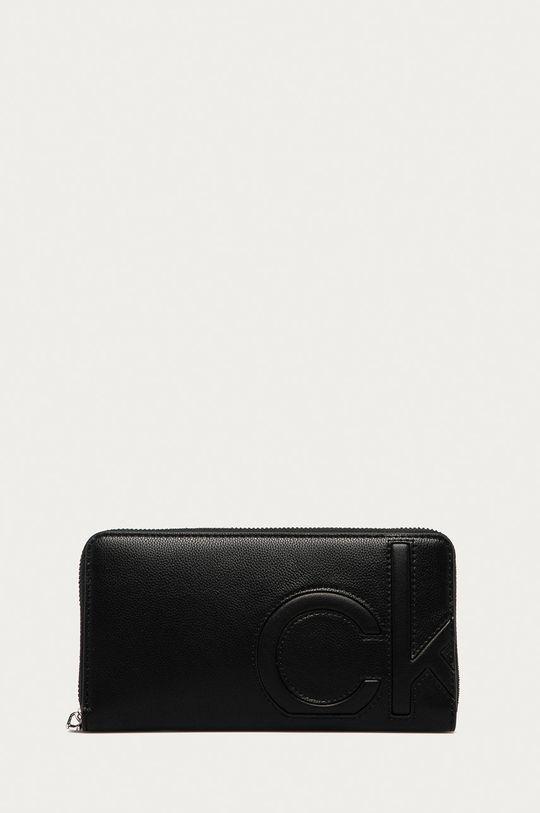 černá Calvin Klein - Peněženka Dámský