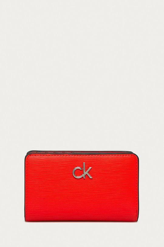 czerwony Calvin Klein - Portfel Damski