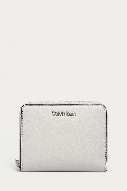 světle šedá Calvin Klein - Peněženka Dámský