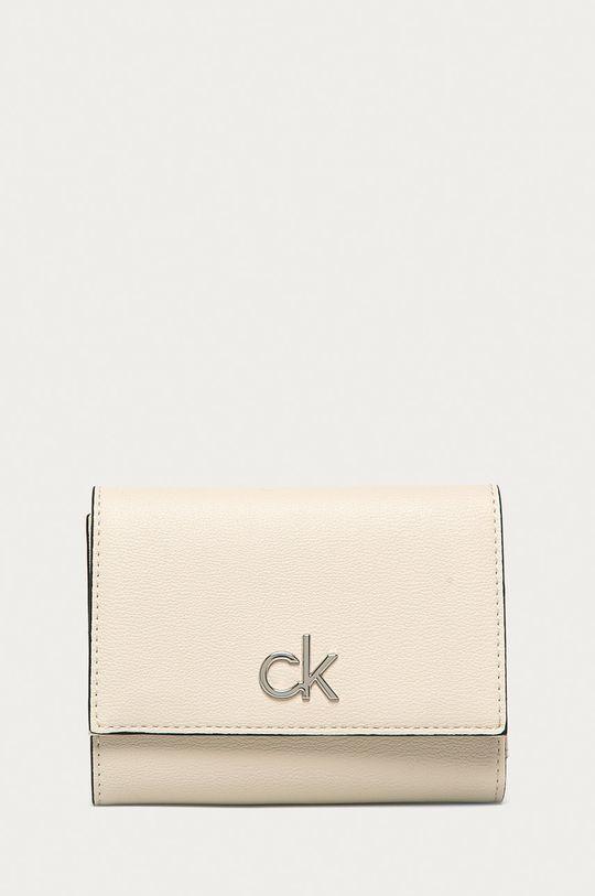 krémová Calvin Klein - Peňaženka Dámsky