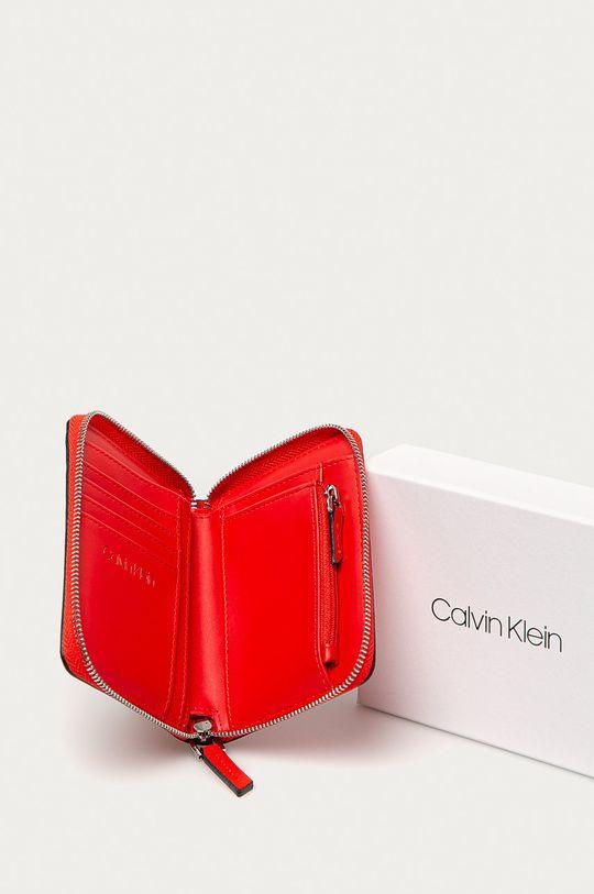 Calvin Klein - Portfel czerwony