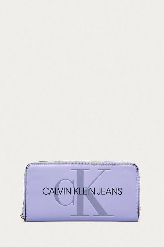 levandulová Calvin Klein Jeans - Peněženka Dámský