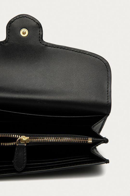 čierna Lauren Ralph Lauren - Kožená peňaženka