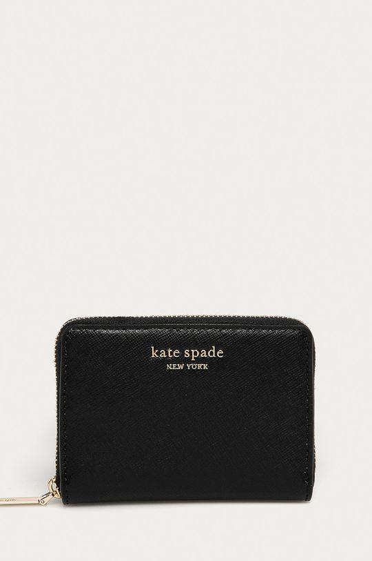 čierna Kate Spade - Kožená peňaženka Dámsky