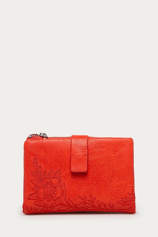 oranžová Desigual - Peněženka Dámský