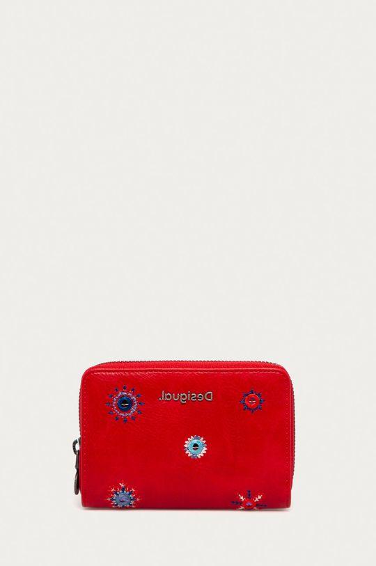 czerwony Desigual - Portfel Damski