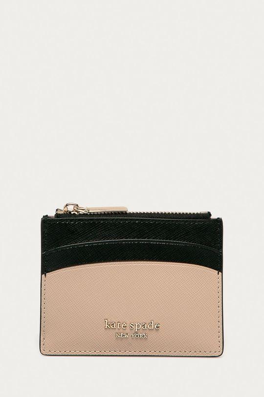 béžová Kate Spade - Kožená peněženka Dámský
