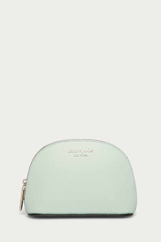 mátová Kate Spade - Kožená kosmetická taška Dámský