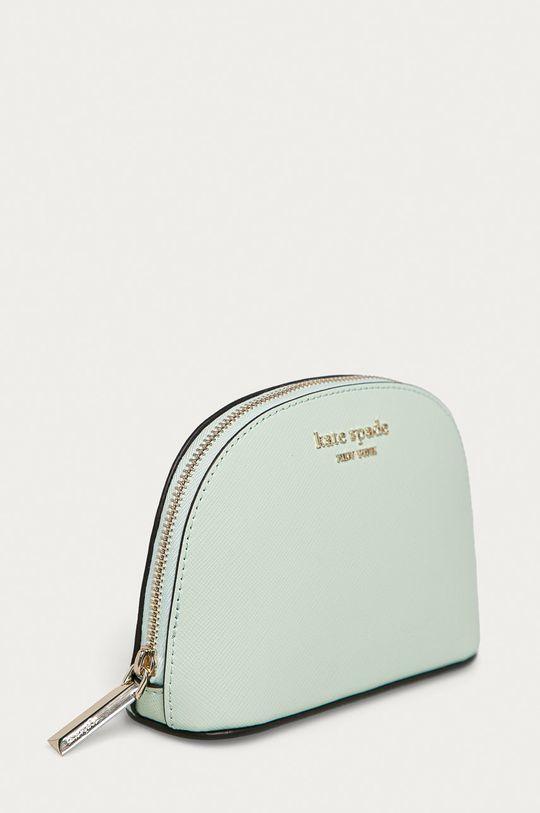 Kate Spade - Kožená kosmetická taška mátová