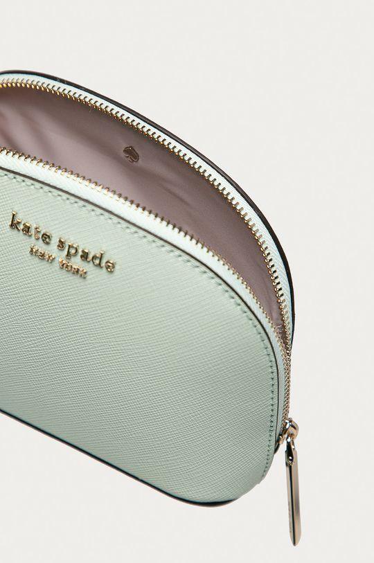 mátová Kate Spade - Kožená kosmetická taška