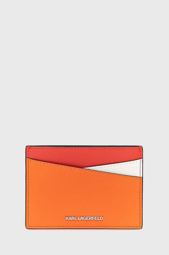červená Karl Lagerfeld - Kožená peněženka Dámský