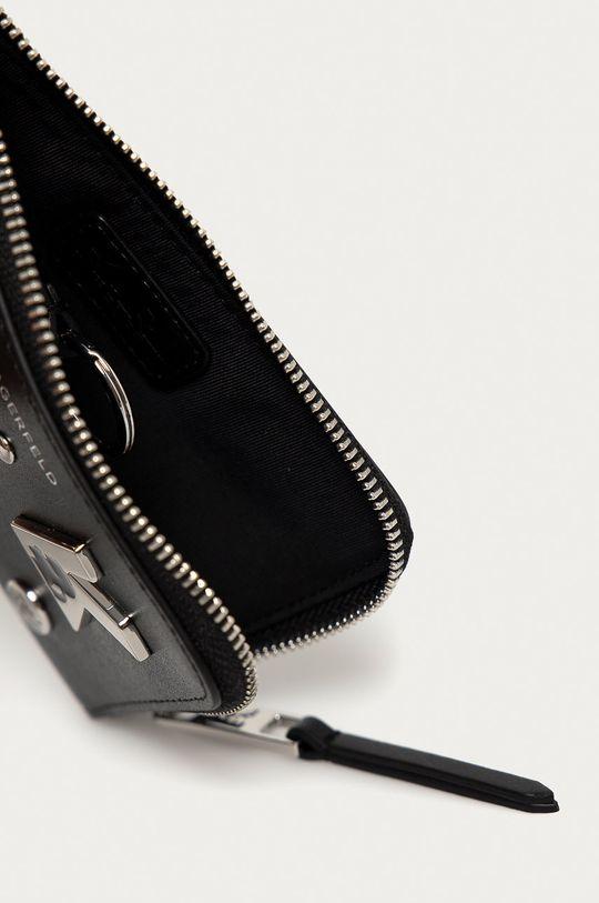 čierna Karl Lagerfeld - Kožená peňaženka