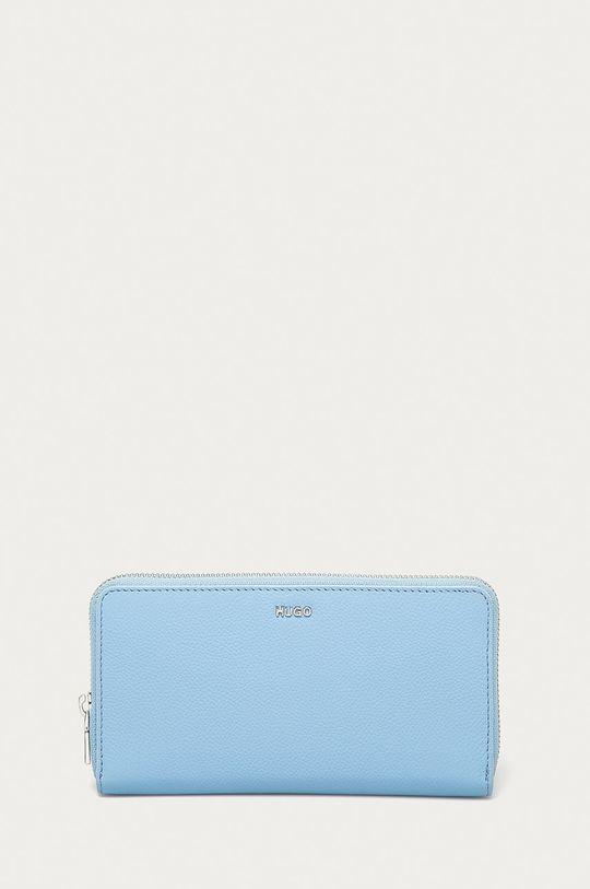 jasny niebieski Hugo - Portfel skórzany Damski