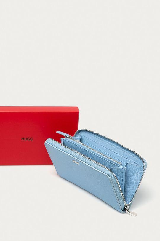 jasny niebieski Hugo - Portfel skórzany